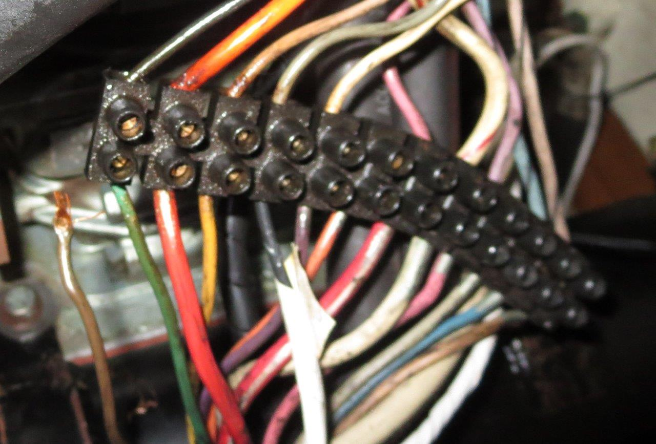 Loose Wire At Engine Terminal Block