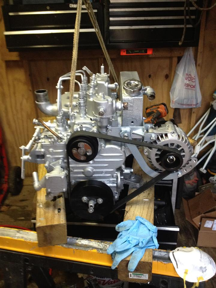 Engine rebuild | Catalina 36/375 International Association