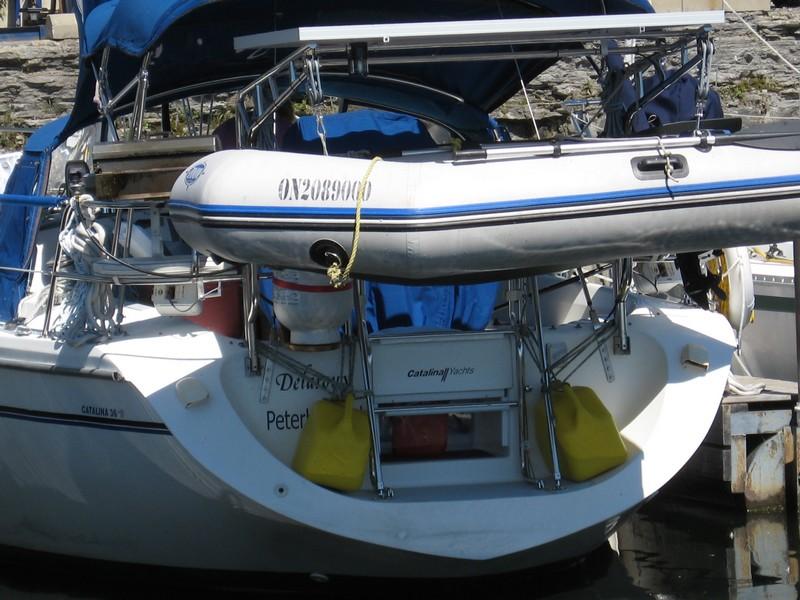 Solar Panel Mounting Catalina 36 375 International