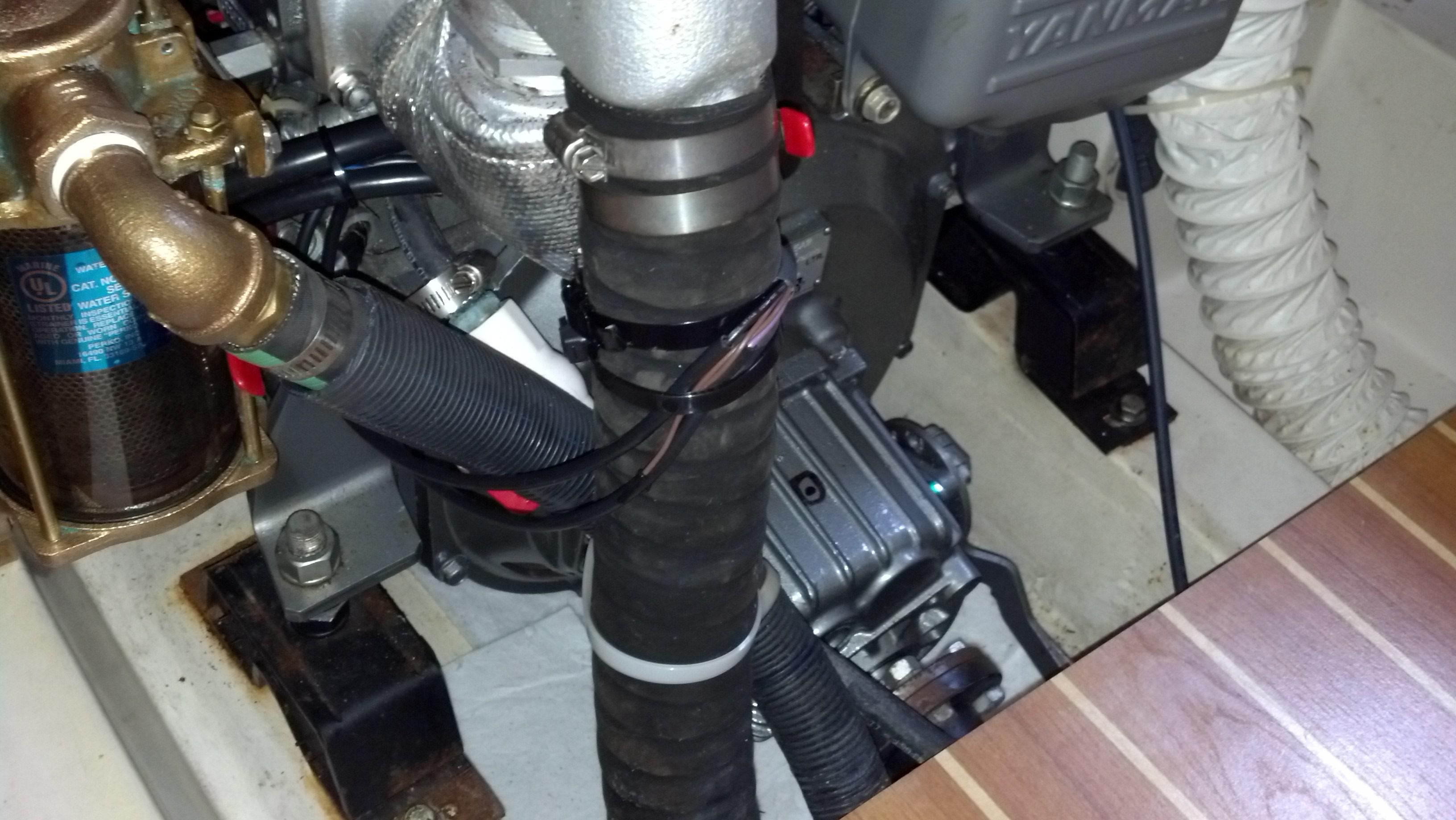 Engine Temperature Alarms Catalina 36 375 International Association Car Overheating Alarm Attachments