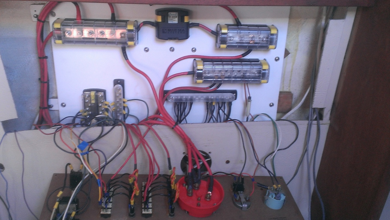 re wiring the electrical panel catalina international attachments