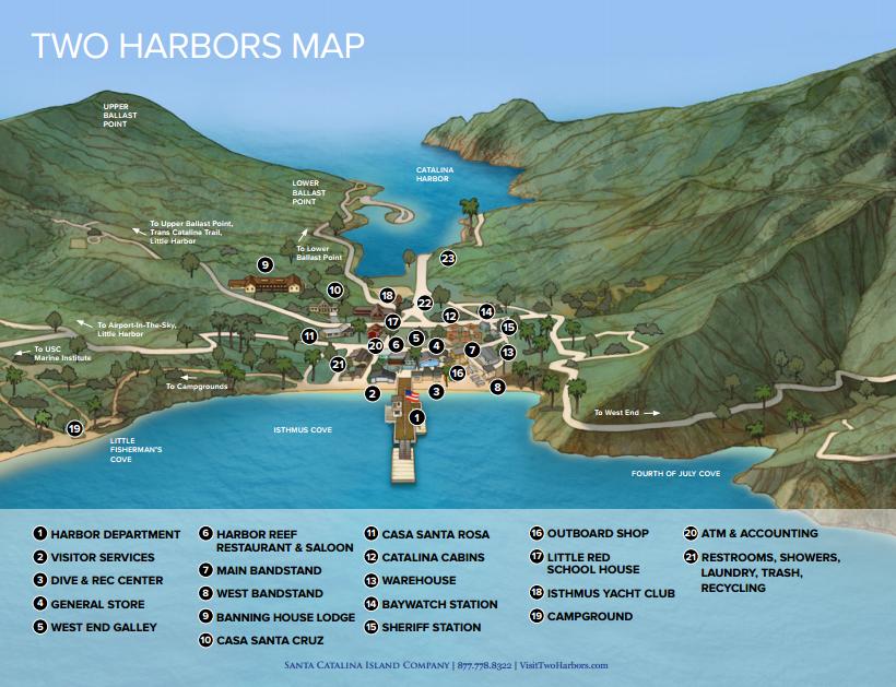 So California Catalina Island U0026 39 S Two Harbors